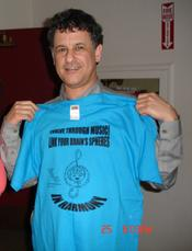"Prof. Dan Levitin, co-producer of ""Music Instinct"", best-selling author of ""Your Brain on Music"", ""The World in 6 Songs"" showing support to the Advocacy for Music Education message, roduced by C.H.A.R.I.S.M.A.Foundation"