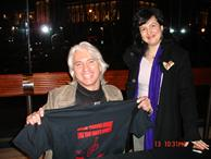 Dmitry Hvorostovsky, int'ly renown Russian singer, with Rozalina Gutman, supporting the cause for music education for all